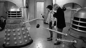 The Doctor and Susan are confronted by Daleks whilst held prisoner.
