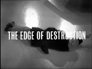 The Edge of Destruction Title Card