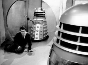 Ian's legs are paralysed by a Dalek attack.