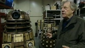 Ray Cusick, the designer of the iconic Daleks.