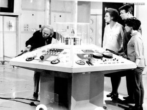 Ian and Barbara are reluctant passengers of the Tardis.