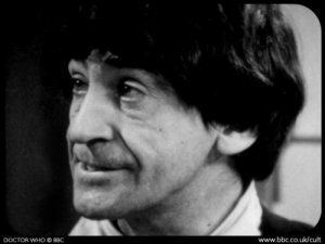 An example of one of John Cura's telesnaps of the Second Doctor.