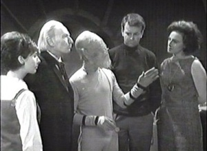 The Tardis Crew and a Sensorite