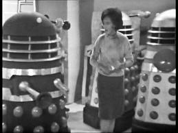 Barbara tries to confuse the Daleks with muddled history