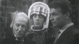 A Roboman with the Doctor and Ian