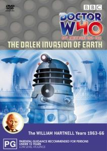 The Dalek Invasion of Earth was first broadcast in the UK between November 21 and December 26, 1964