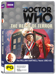 The Reign of Terror was originally broadcast in the UK between 8th August and 12th September 1964