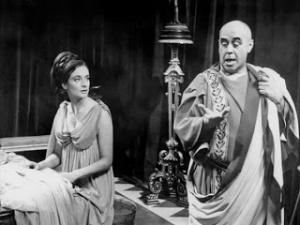"""Barbara and the """"guy guy"""" of Nero's household, Tavius"""