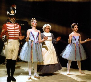 The sergeant, cook and ballerinas