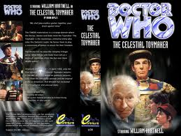 The Cover for Loose Cannon's The Celestial Toymaker.  Reproductions are only available on VHS tapes, although they can be viewed on YouTube.  Loose Cannon does not sell or profit financially from the sale of their reconstructions