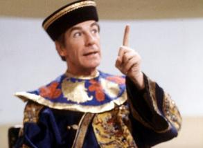 The Toymaker finds the Doctor's presence intolerable in The Celestial Toymaker