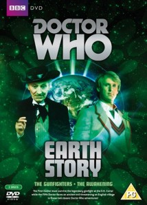 The Gunfighters DVD was released with the Fifth Doctor adventure The Awakening in the Earth Story Box Set