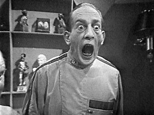 Once of the most iconic images from the Second Doctor's lost adventure Fury from the Deep.  Almost one minute of this clip survives thanks to the Australian Film Censorship Board