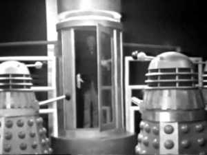 The Daleks produce an evil android Doctor