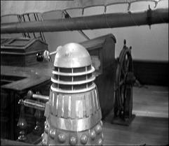 Daleks on the Mary Celeste