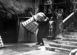 Frankenstein puts an end to a pesky Dalek