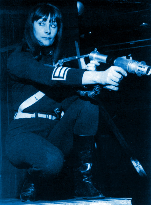 Sara Kingdom in combat mode in The Daleks' Master Plan