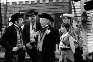 The Doctor and his companions visit Tombstone, Arizona