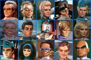 Guess which two Thunderbirds voice artists appeared in The Gunfighters