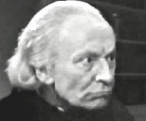 William Hartnell as the Abbot of Amboise
