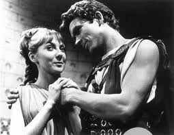 Vicki and Troilus in The Myth Makers