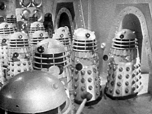 The Daleks are at their frightening best in The Power of the Daleks