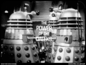 The Power of the Daleks - Title Card