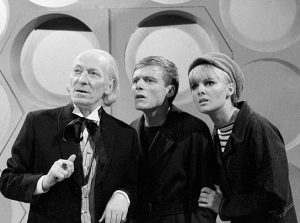 Ben and Polly arrive take their first trip in the Tardis