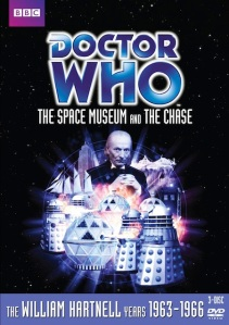 "The Chase was released in a Box Set with The Space Museum entitled (You guessed it!) ""The Space Museum The Chase""."
