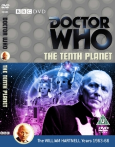 The Tenth Planet was originally broadcast in the UK between 8 October and 29 October 1966.  The DVD of the three episodes held in the BBC Archives, together with an animation of missing episode four, is to released by the BBC in November 2013
