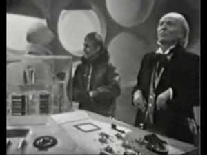 The Tardis Crew are ready to brave the cold.  Polly chooses a highly impractical mini skirt