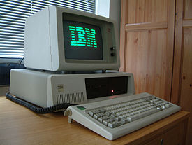 An IBM XT.  My first computer was a clone of this machine