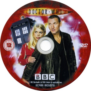 An example of a Region 2 New Series disc.  Classic Series Region 2 discs also generally have photographs and interesting graphics