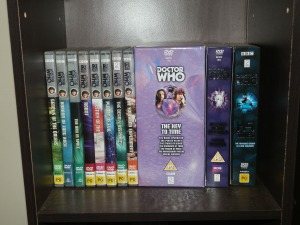 Fourth Doctor DVDs