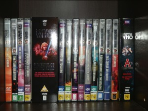 Sixth and Seventh Doctor DVDs