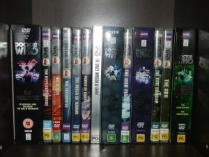First Doctor DVDs