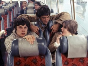 Frazer Hines, Patrick Troughton and Deborah Watling continue their journey