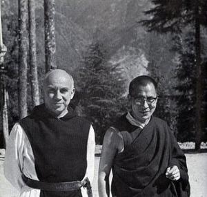 Thomas Merton with the Dalai Lama