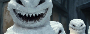 A snowman from 2012's The Snowmen
