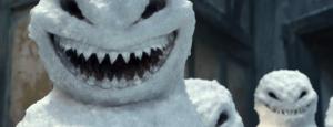 A snowman from 2012's The Snowmen