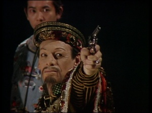 White men were still being cast as Asian males in The Talons of Weng-Chiang, a Fourth Doctor Adventure