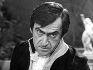 The Enemy of the World is one of the rumoured Missing Episodes finds.  In this serial Patrick Troughton plays the dictator Salamander who is the spitting image of him
