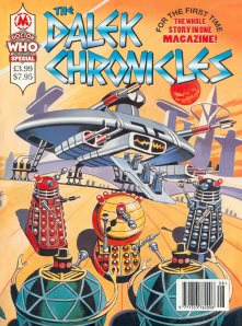 The Dalek Emperor first appeared in the David Whitaker penned Dalek cartoons published in TV Century 21 magazine