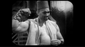 Sonny Caldinez played the role of Kemel, a Turkish wrester and strongman