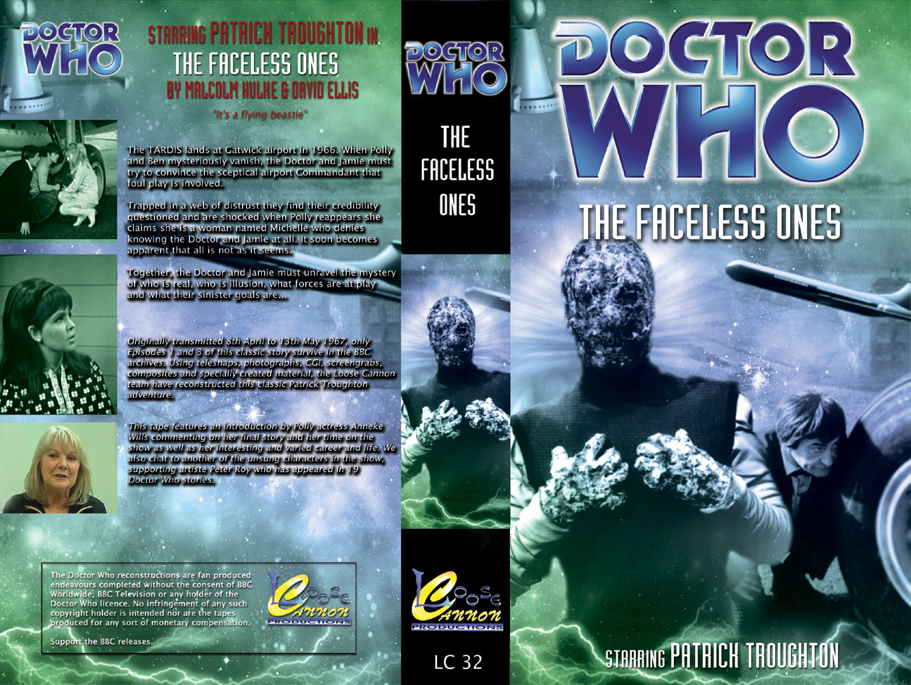 The Faceless Ones Loose Cannon Reconstructions The Doctor Who