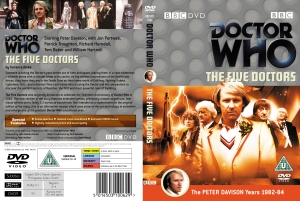 The Region 2 release of The Five Doctors.  You will note from the back cover that it is dual coded Region 2 and Region 4