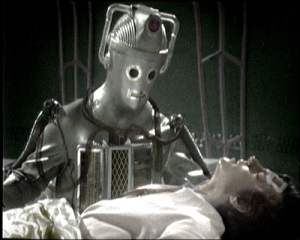 A Cyberman with Jamie