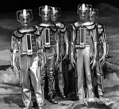 The Mark 2 Cybermen of The Moonbase have lost the vestiges of their humanity