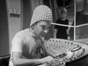 The Gravitron is operated by men in funny hats that look like they were rejects from The Underwater Menace