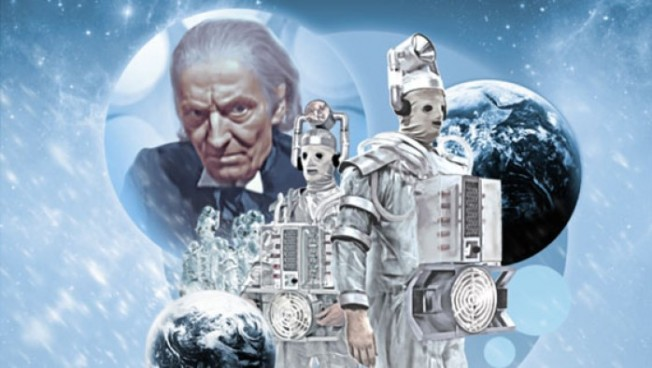 The DVD cover art for The Tenth Planet